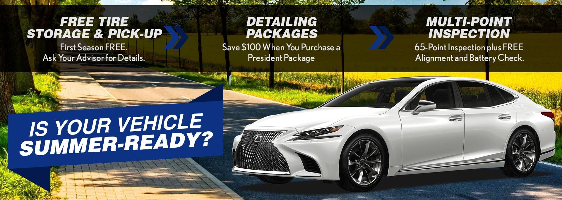 Lexus Service Specials Promotions