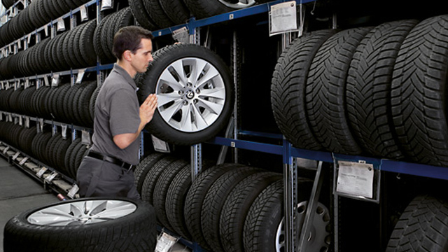 Storing Your Tires Elsewhere? We Will Pick Them Up!