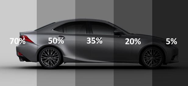 Lexus Window Tinting