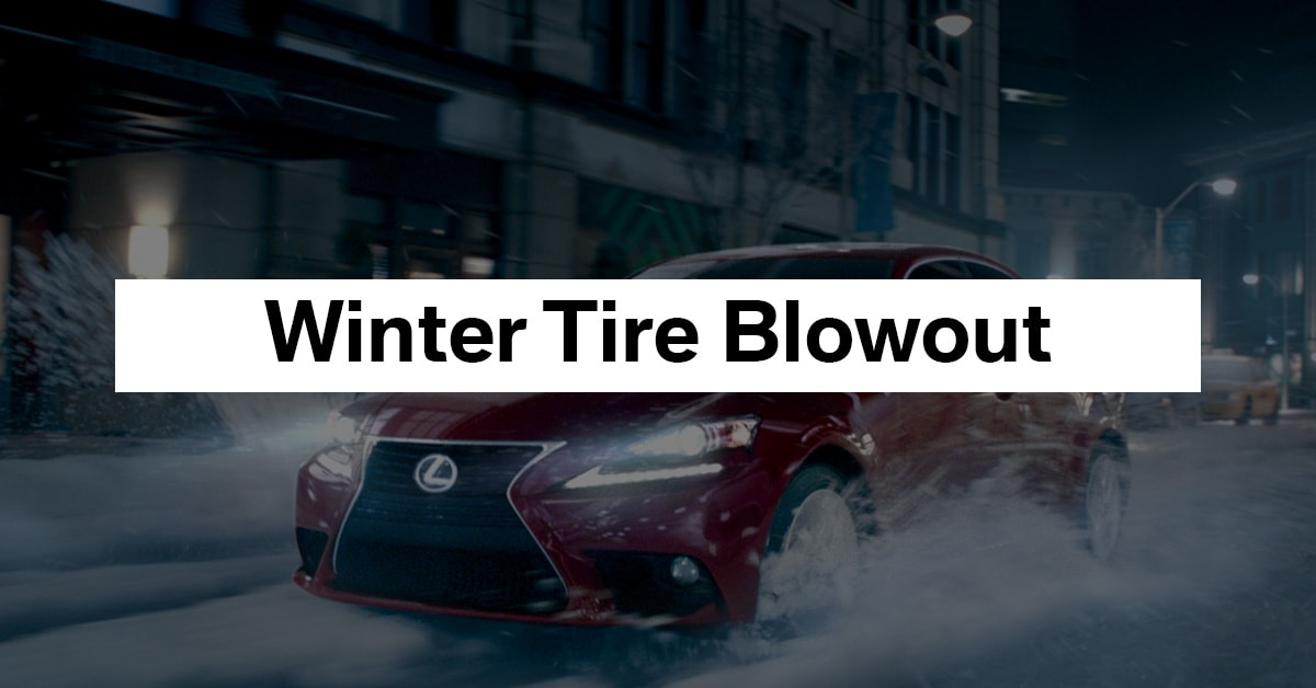 Winter Tire Blowout