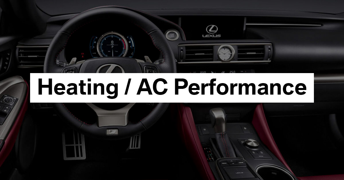 Heating & AC Performance