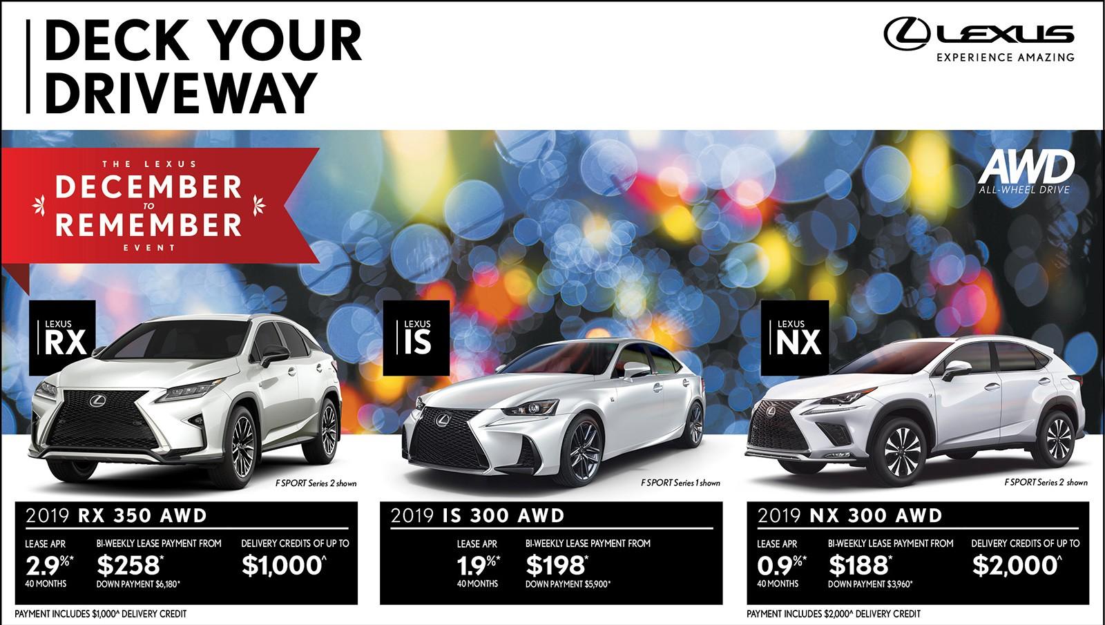 Lexus of Lakeridge December to Remember