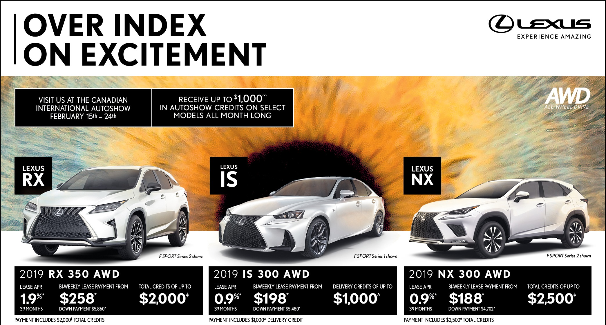 Lexus of Lakeridge - February Specials