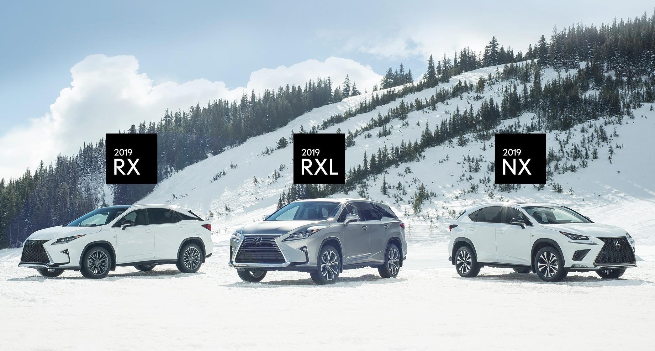 Lexus of Lakeridge Lexus RX Lexus RXL Lexus NX