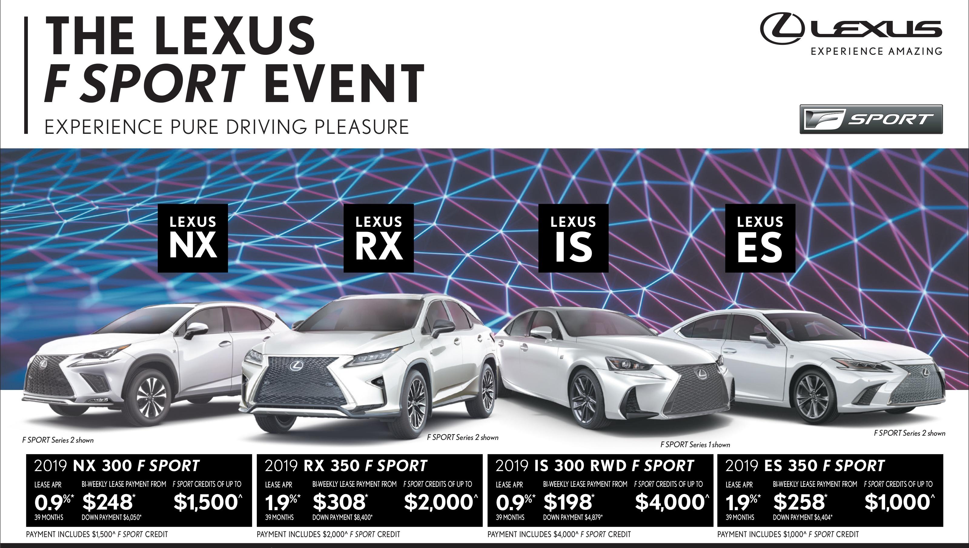 Lexus specials lexus special offers lexus of lakeridge