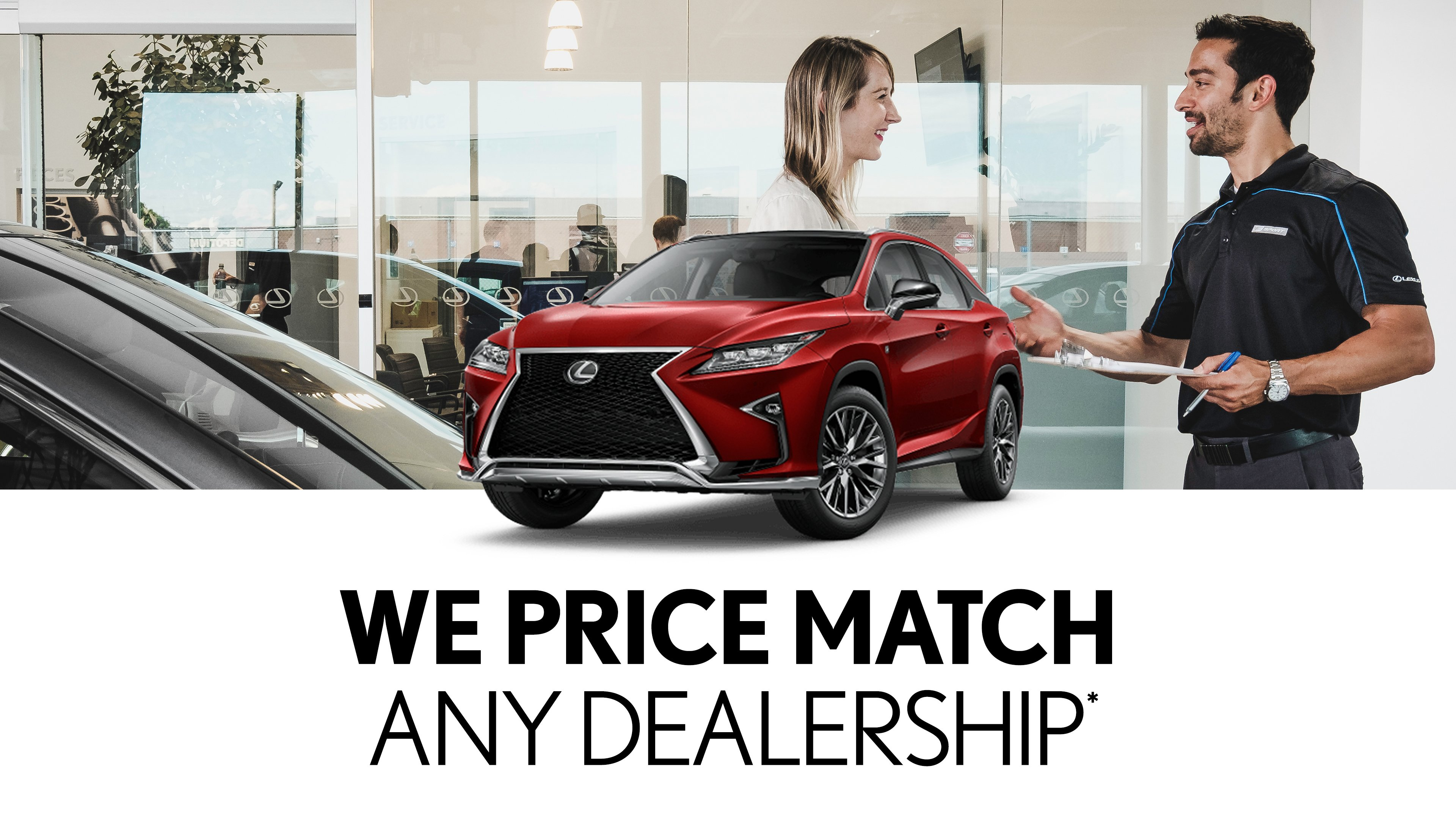 Lexus Service Price Match