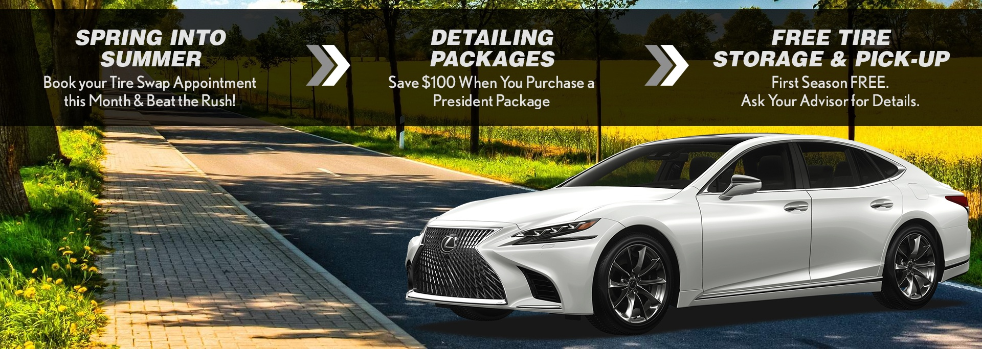 Lexus Service Specials Promotions