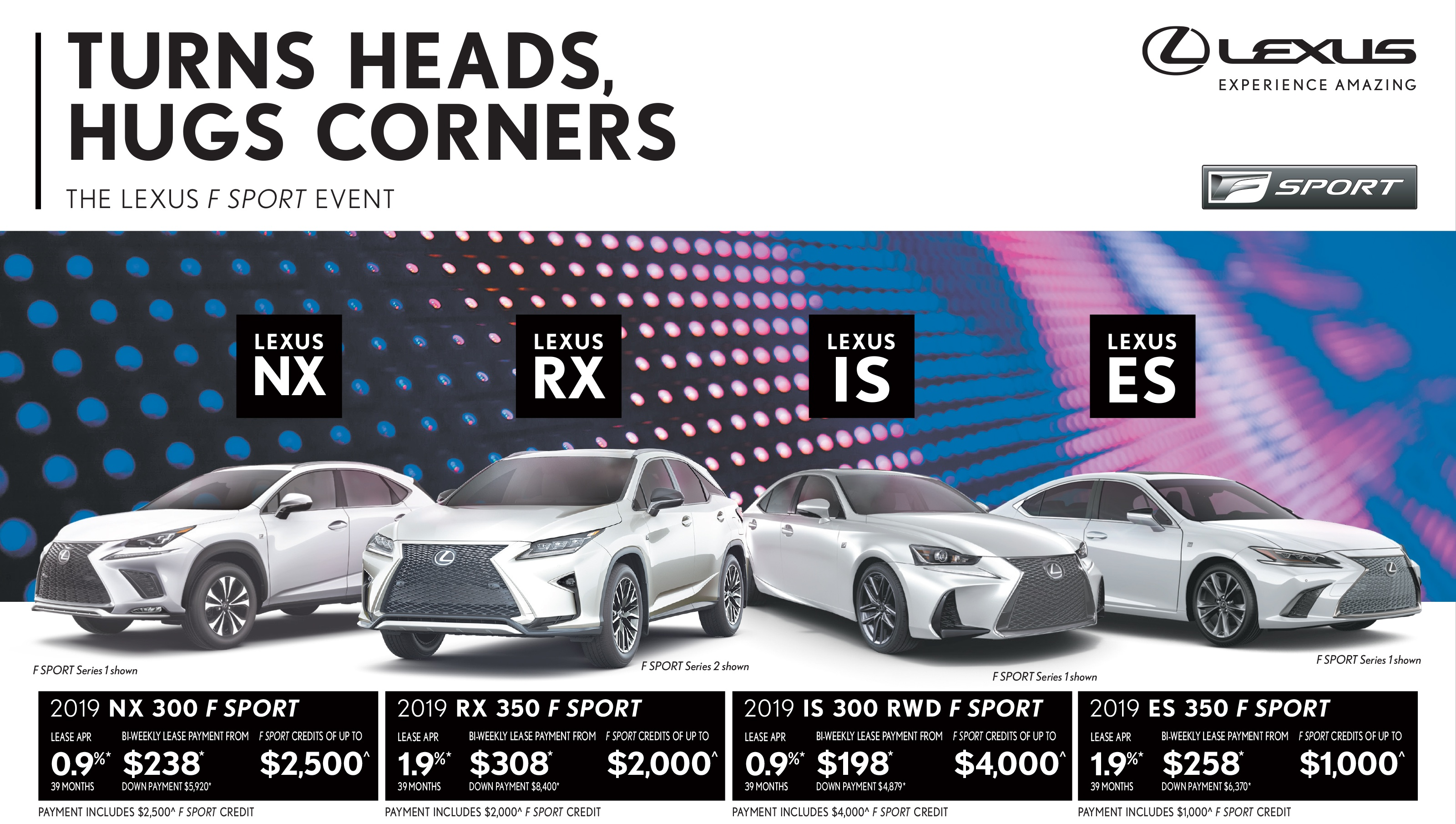 lexus special offers specials promotions